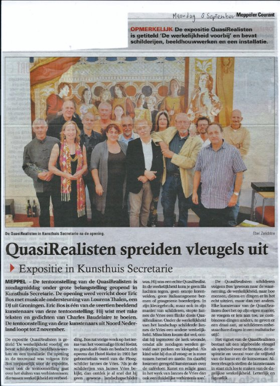 Meppeler Courant, 8 september 2014