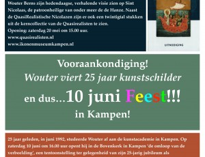 Expositie Quasirealisten in Ikonenmuseum Kampen mei 2017