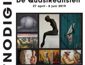 De QuasiRealisten in Galerie DSG Assen 27 april-8 juni 2019